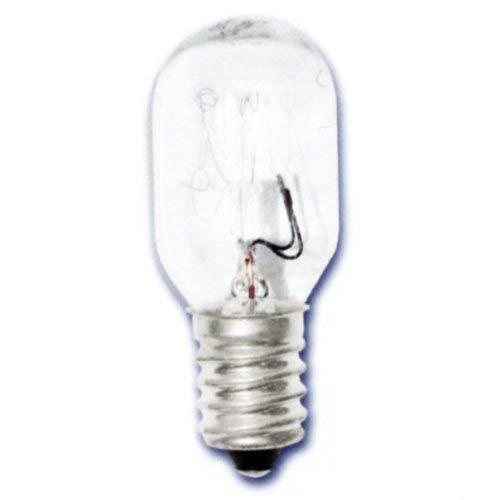 Preisvergleich Produktbild Silver Glühbirne,  röhrenförmig,  für Kühlschrank E-14 Fassung 25W 220V