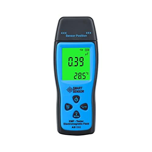 Medidor de EMF, Digital EMF Medidor de radiación electromagnética Probador de radiación eléctrica Campo magnético eléctrico Detector de dosímetro para el hogar para ORDENADOR PERSONAL Impresora telefó