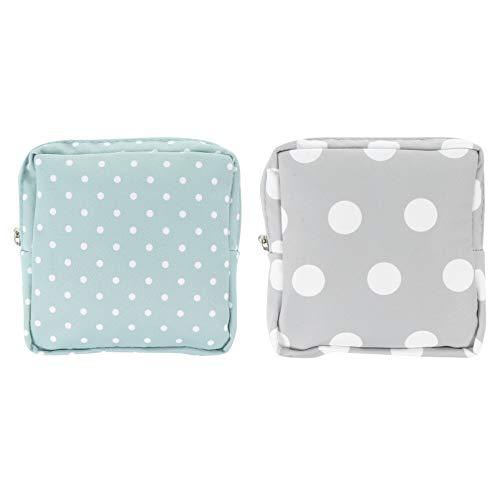 HEALLILY 2 Stück Menstruation Pad Tasche Tragbare Damenbinden Tasche Menstruationstassen Pad Tasche Kleine Brieftasche Sanitär Pad Veranstalter für Mädchen Damen Frauen