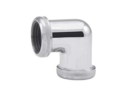 tecuro -57528- Winkel/Kupplung zum Verbinden von Ø 32 mm Siphonrohren Tauchrohren