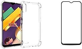 Kit Capa Reforçada Antishock Tpu Premium LG K22 / LG K22+ Plus + Película De Vidro 3D 5D 9D