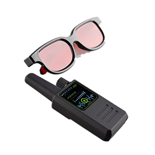 DAGUAN-YAOYAO Módulo electronico Cámara de detección Anti-espía de Detector de señal M003 R-F Alta Sensible G-S-M FINANTE DE Audio DE Audio FINANTE GPS Scan GPS Lente de señal de Gafas