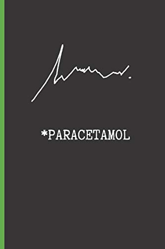 PARACETAMOL: BLANK LINED NOTEBOOK FOR DOCTORS 6