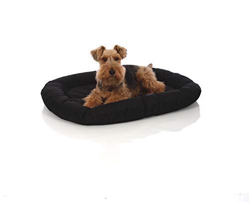 Pets&Partner® Indoor und Outdoor Matte für kleine bis große Hunde, Schwarz, M