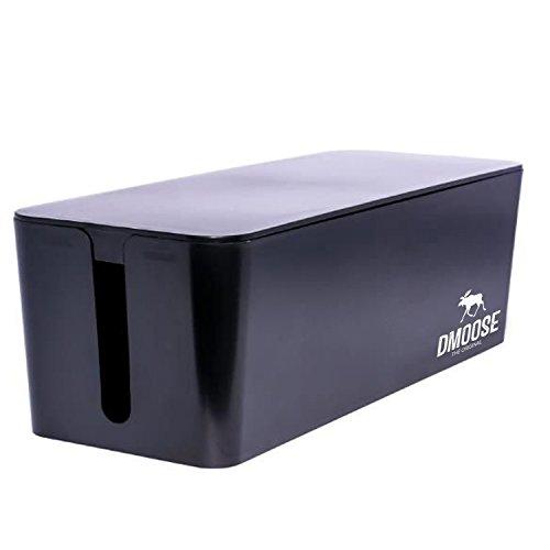DMoose Cable Management Box Cord Organizer