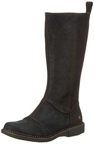 art Damen 1098 Wax Bergen Schlupfstiefel, Schwarz (Night Night), 38 EU