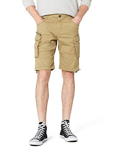 JACK & JONES JACK & JONES Herren JJICHOP JJCARGO AKM 429 STS Shorts, Beige (Kelp Kelp), 48 (Herstellergröße: S)