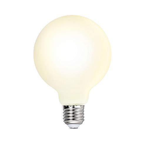 G95 LED Große Lampe Glühbirne Leuchtmittel Birne E27 6W Omnidirektional Warmweiß 3000K mit Glas Lampenschirm für Pendelleuchte Hängelampe 1er Pack von Enuotek