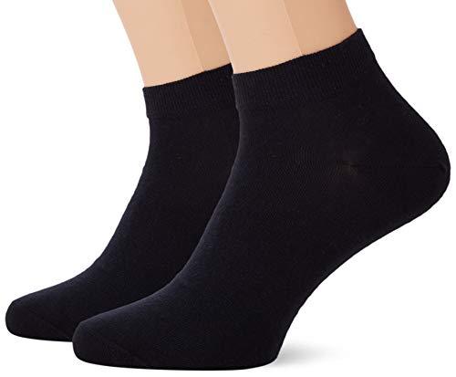 Living Crafts Sneaker-Socken, 2er Pack 43/46, dark navy