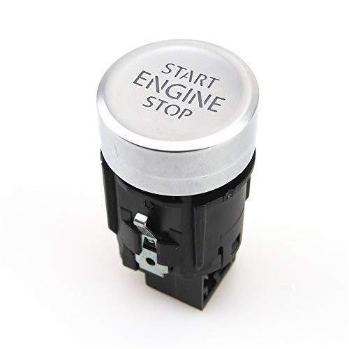zhuzhu Car Start & Stop del Motor con un Solo botón Interruptor de botón sin Llave Interruptor de Inicio de Las Partes aptas for VW Golf 7 MK7 VII 5GG959839 5GG 959 839