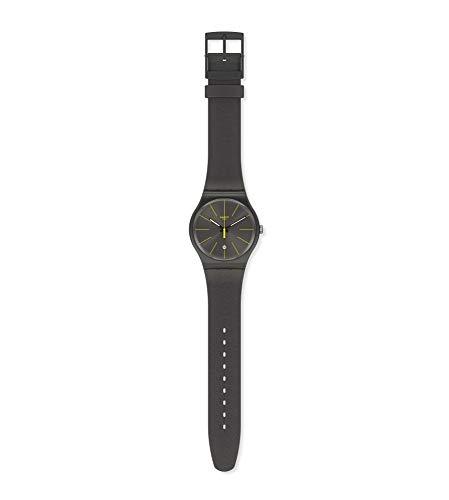 Swatch SUOB404 Herenhorloge met silicone armband