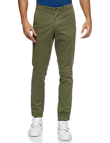 Jack & Jones Jjimarco Jjbowie Sa Pantalones, Verde (Olive Night Olive Night), 31W / 34L para Hombre