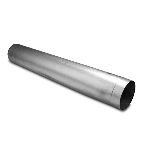 TROTEC Abgasrohr, Kamin, Schornstein, Ofenrohr starr Ø 120 mm, feueraluminiert
