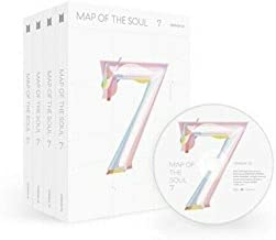 Bighit BTS 'Map Of The Soul 7' 4th Album Ver.1+Ver.2+Ver.3+Ver.4 '4 SET' CD+4p Folded Poster+Photo Book+Lyric Book+Mini Book+PhotoCard+Post+Sticker+Coloring Paper+Message PhotoCard SET+Tracking