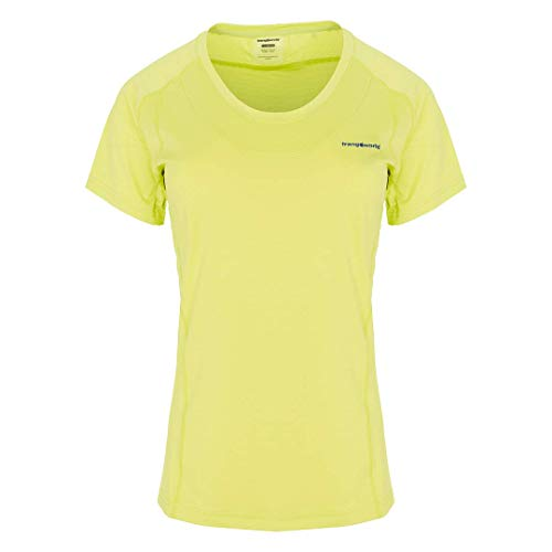 Trangoworld Bocela T-Shirt Femme, Jaune-Vert Lime, L