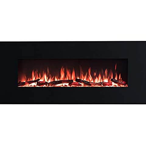 PuraFlame Serena Wall Mount Electric Fireplace