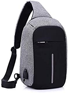 شحن USB ضد السرقة شحن USB حقائب الصدر حقيبة الظهر الرجال حقائب الظهر الأزياء السفر المدرسية Bagpack الرجال والإناث ستيلث س...
