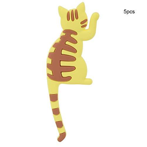 WolfGo Cartoon Cat Refrigerato