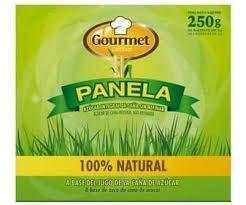 Gourmet Latino - Panela ( Whole Cane Sugar - Unrefined ) 100% Natural - 50 sachets of 5g - Total 250 g