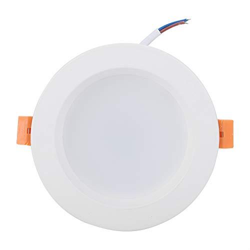 Cerlingwee Lámpara de Control de aplicación Resistente al Calor Multicolor de luz RGB Estructura Robusta Downlight de Control por Voz, para Barra de Inicio