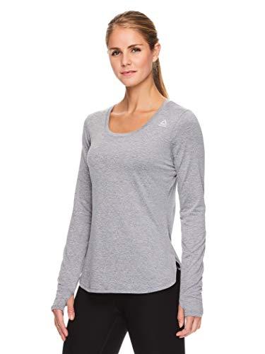 Reebok Women's Legend Long Sleeve Running T-Shirt - Performance Training & Workout Top