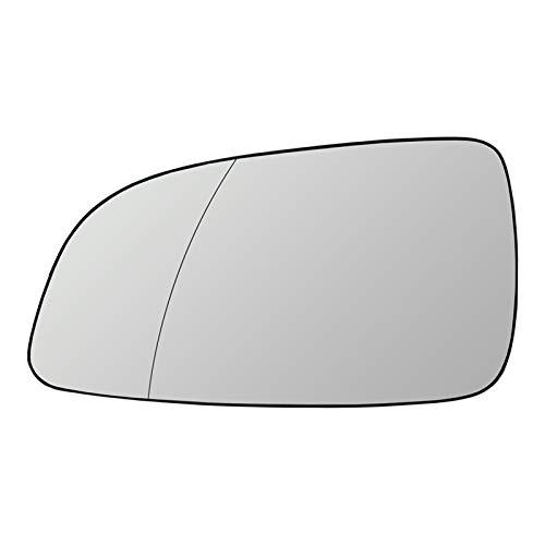 PREPP Adatta per Opel Astra 2004-2008 Sinistra Destra Destra Lato Esterno Specchio riscaldato Riscaldamento retrovisore specchietto retrovisore Vetro 6428786 13141985 (Color : Left)