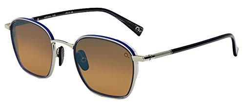 Etnia Barcelona Gafas de Sol WIGWAM SUN Silver Blue/Brown Shaded Hd 49/21/148 unisex