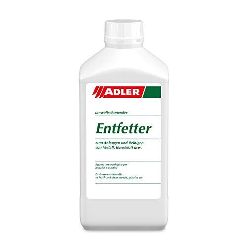 ADLER Entfetter - 1 L - Fettentferner, Reiniger und Anlauger auf Wasserbasis - Lösemittelfrei, enthält weder Säuren noch Phosphate und ist biologisch abbaubar