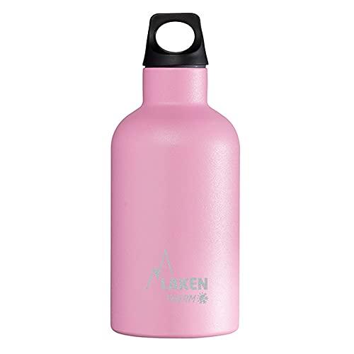 Laken Futura Botella Térmica de Acero Inoxidable 18/8 y Aislamiento de Vacío con Doble Pared, Rosa, 750 ml