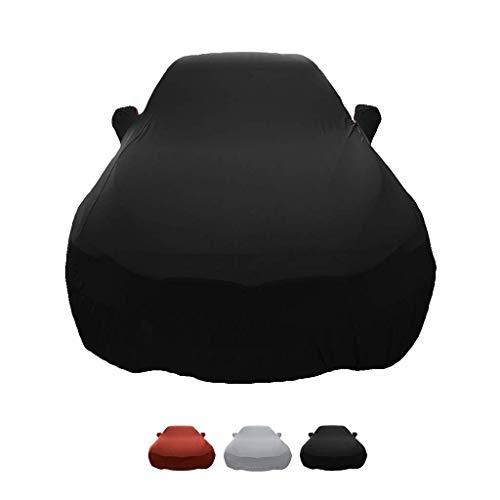 FHKBB Compatible con la Funda de Coche Nissan GT-R, Capota de Coche de Terciopelo de Tela elástica,