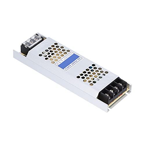 Fuente de alimentación conmutada regulada, transformador de voltaje convertidor de CC para cajas de luz de tela(WCB-12V-100W, rosado)
