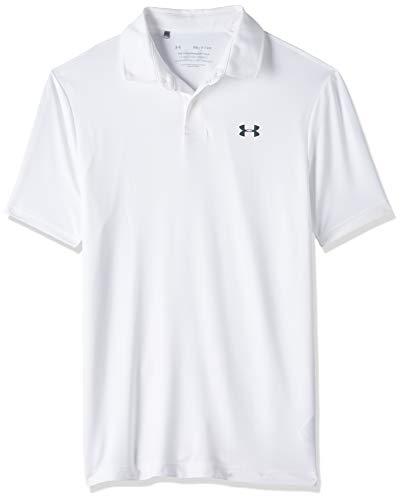 Under Armour Herren Poloshirt Performance 2.0, Weiß, LG, 1342080-100