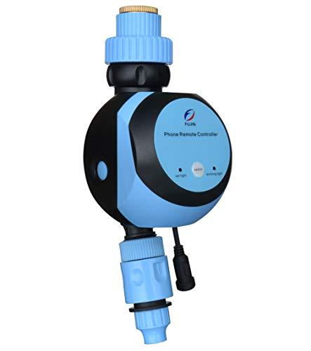 Qiumi Telecomando Mobile Wi-Fi, Regolatore Automatico Dell'Acqua Da Giardino, Timer Di Irrigazione Remoto, Irrigazione Intelligente Per Giardino Domestico