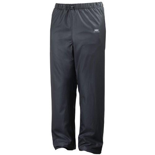 Helly Hansen - Pantalones de Trabajo Impermeables Modelo Voss Hombre Caballero (2XL) (Negro)