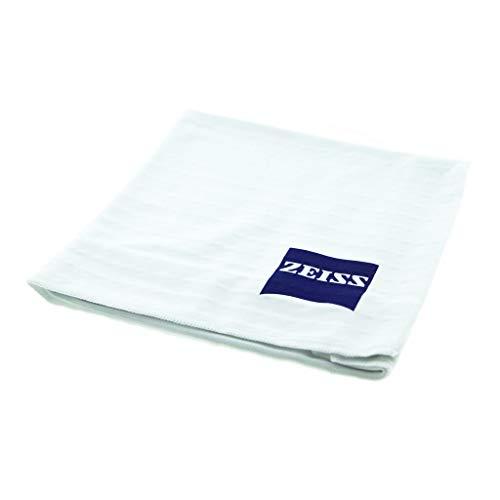 ZEISS - Panno per la pulizia degli occhiali, in microfibra, 35 x 35 cm