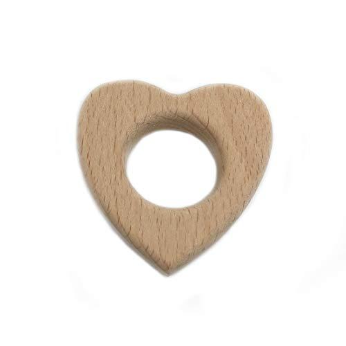 couleur bois 16pcs Coskiss Pendentifs en bois de h/être massif charme /écologique Bijoux Charm Making Accessoires Handcrafted Kits DIY