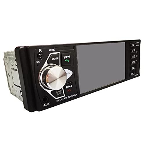 Radio Estéreo De Automóvil, Llamada Con Manos Libres Bluetooth, Cámara De Vista Trasera Cámara Reproductor MP5, Soporte MP3 / FM/TARJETA DE USB/TF/AUX, Pantalla De Alta Definición