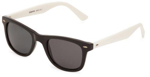 Sunoptic - Occhiali da Sole, uomo, Nero (Black/White), Taglia unica