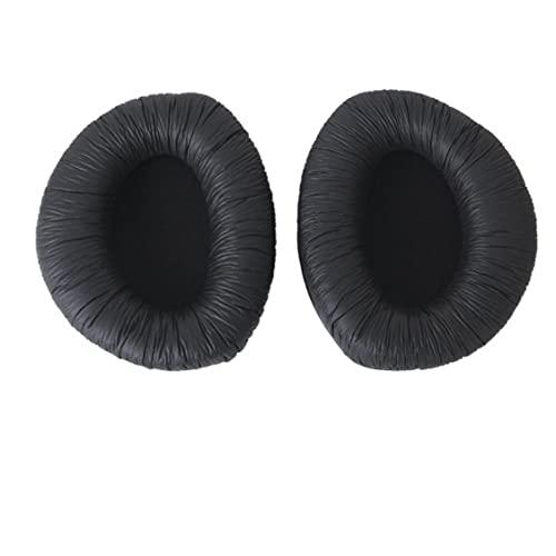 Jorzer 1 Par De Cojines De Almohadillas De Oído De Reemplazo Negro Para Rs160 Rs170 Rs180 Auriculares Auriculares