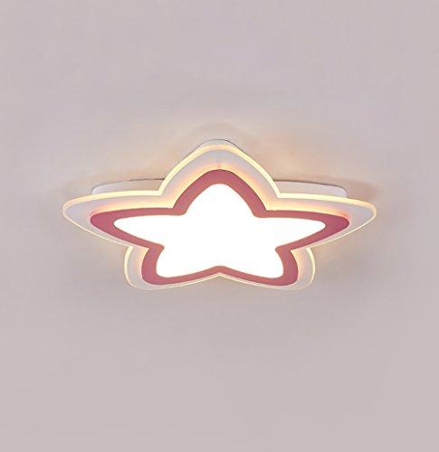 Soarl-A slaapkamerlampen, plafondlamp, sterrenlicht, sober, beschermt de ogen