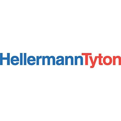 HellermannTyton 111-05260 T50I-PA66W-BK Kabelbinder 300 mm 4.60 mm UV-stabilisiert 100 St.