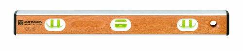 Johnson Level & Tool IB48 48-Inch Birch Aluminum I-Beam Level - 6 Vial