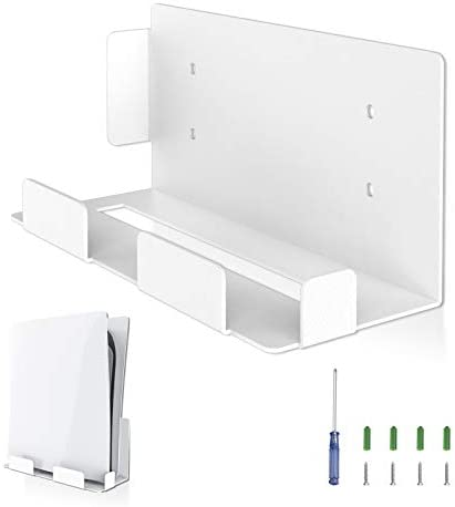 BEJOY Wall Mount for Playstation 5 Wall Mount Bracket Set with Screwdriver Screws Sturdy Metal product image