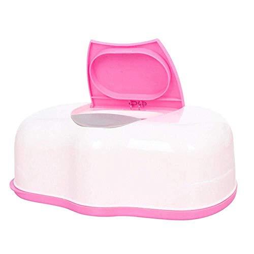 Portarrollos para papel higiénico Caja de pañuelos, toallitas húmedas Ambiental caja, caja de almacenamiento de sellado del tejido del bebé mojado, De Wet Porta papel toalla caja de papel hogar de mat