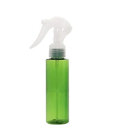 Leere Klarglas-Sprühflaschen – nachfüllbare Behälter für ätherische Öle, Reinigungsprodukte, Pflanzen oder Kochen – zuverlässiger Sprüher mit Nebel- und Strahl-Einstellungen (100 ml), grün