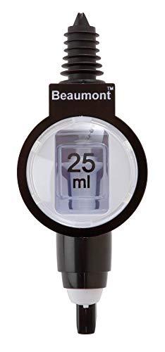 Beaumont Spirituosendosierer 2,5cl 3134, Schwarz