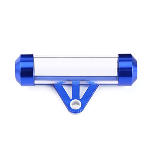 Dibiao Waterproof Motorcycle Secure Tax Disc Cylindrical Holder Frame Tube Universal for Motorbike Scooter