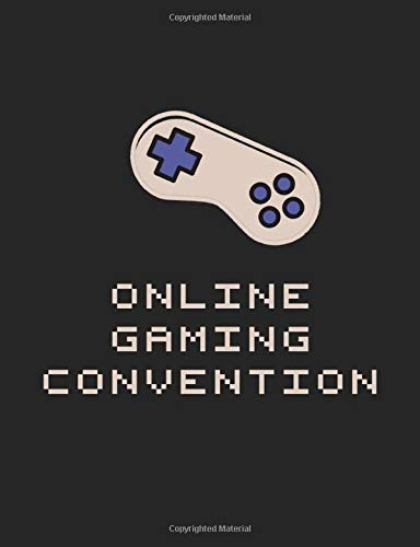Online Gaming Convention: Notebook Take Down Notes of Important Discussions on Video Conferences, Live Streams And Webinars