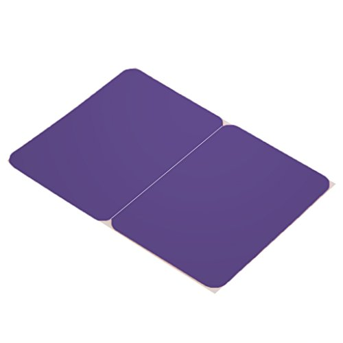 B Blesiya Silicone Wrist Pad Cover Wrist Pad Palm Rest Cushion with Touchpad Protector Skin Cover for Macbook Air/Pro Laptops - Purple