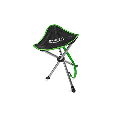 Skoda 000069635E Dreibeinhocker Campinghocker Motorsport Outdoor Hocker